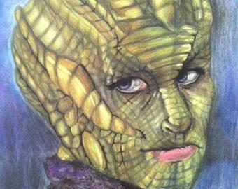 Doctor Who Madame Vastra Art Print