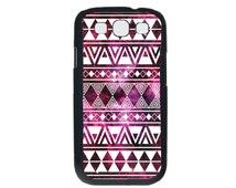 Samsung Galaxy S3 Phone Case - Galaxy Nebula White Tribal Pattern Case for Samsung Galaxy S3