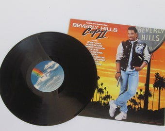 1987 Vinyl Record Album Beverly Hills Cop II: MCA The Motion Picture Soundtrack Album-Eddie Murphy