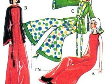 Princess Pajama Pattern 1776  - Photocopy