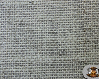"Burlap Jute SEAFOAM GREEN Fabric / 58"" / Sold by the yard"