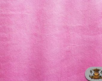 """Minky Cuddle ULTRA SOLID Hot Pink Fabric / 58"""" Wide / Sold By the Yard"""