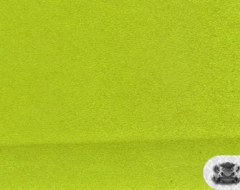 "Micro PASSION SUEDE Lime 42 Fabric / 58"" Wide / Sold By the Yard"
