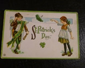 Saint Patricks Day Vintage Postcard Rare Collectible