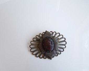 Vintage victorian brooch.