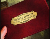 Bioshock Infinte Booker's Box Plaque/plate
