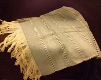 Vintage Linen Scarf