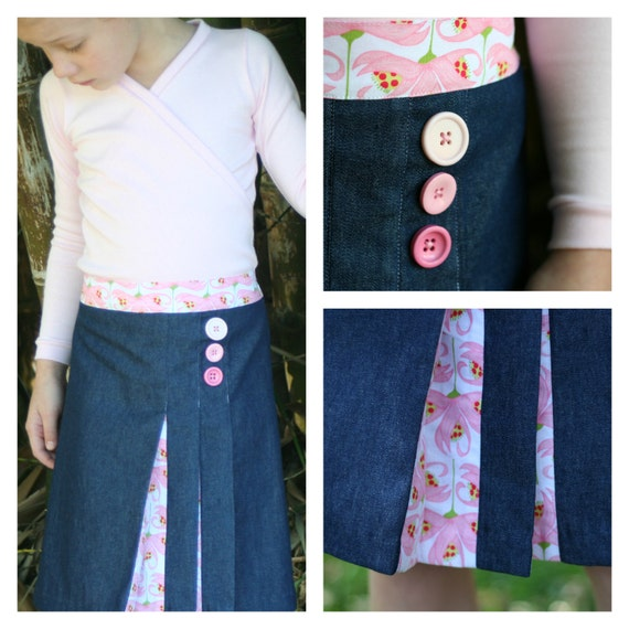 BUNDLE - combo deal - Wrapped Up top and Origami skirt pattern bundle - PDF patterns