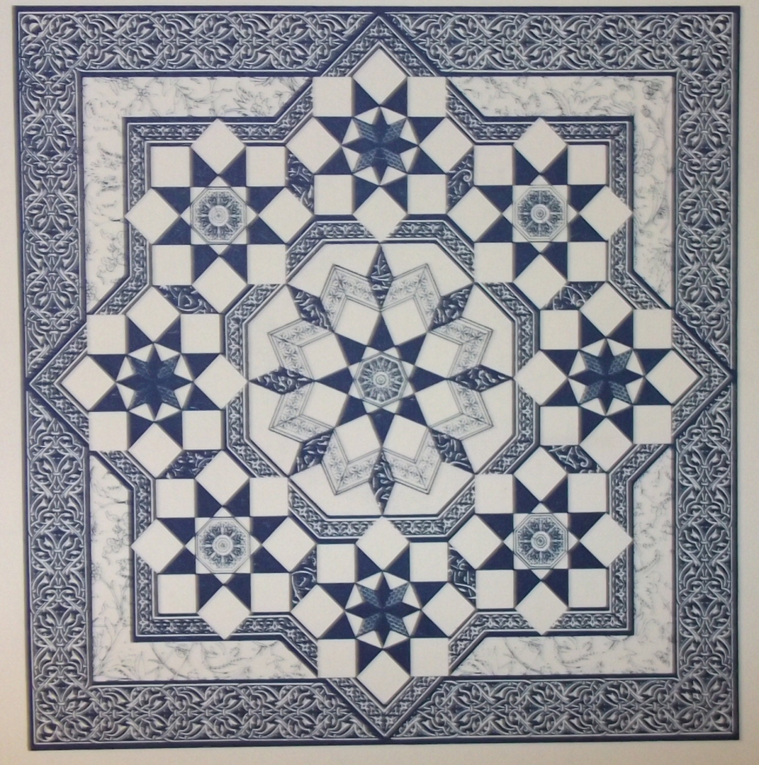 Persian Patterns: Persian Star Quilt Pattern From Mary K Ryan 1987
