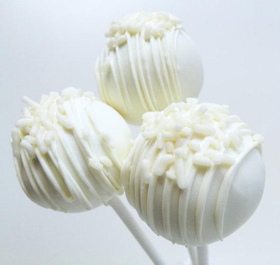 Very Vanilla Cake Pops - Cake Pops - Vanilla Cake Pops - White ...