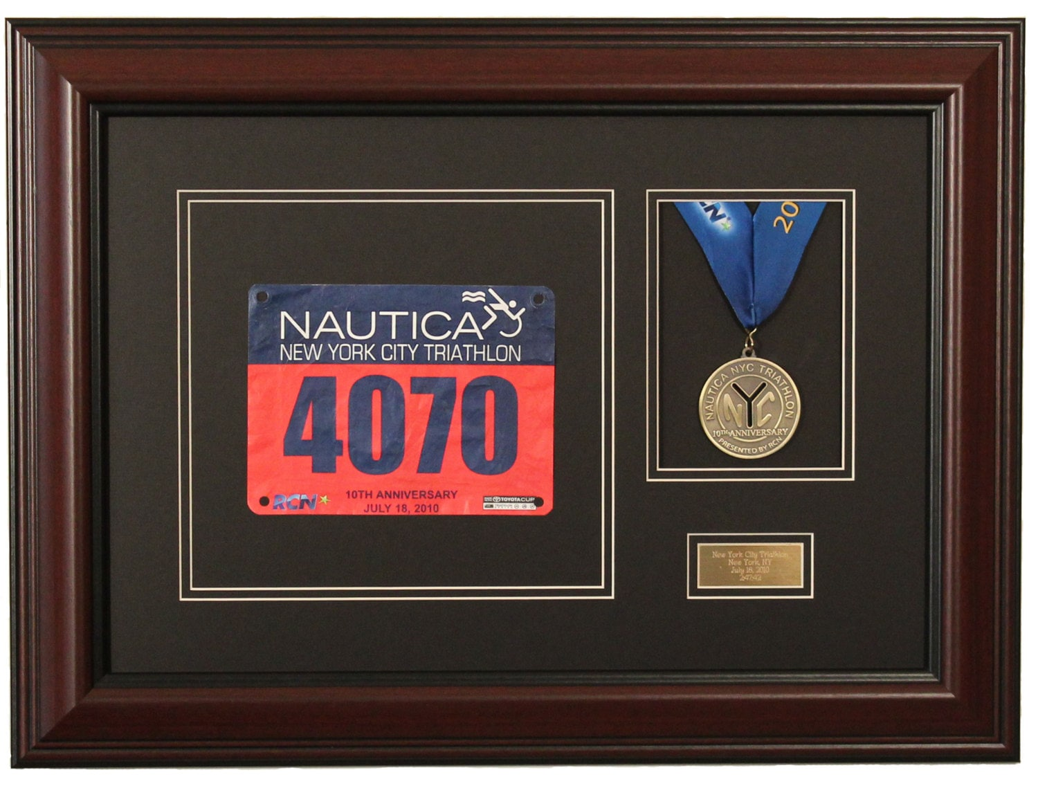 Race Medal Medal And Race Bib Display