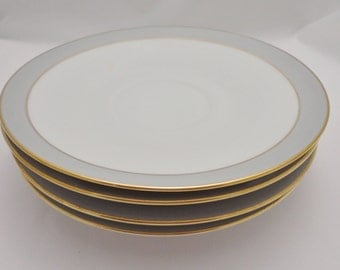 Hutschenreuther Saucers / Plates - Set of 4, Hothenberg Germany