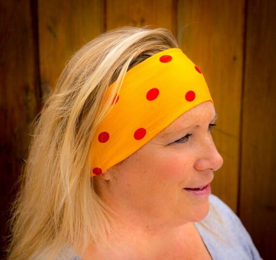 Exercise Hair Bands: Women's Summer Fun Headband Hair Band Workout Headband By