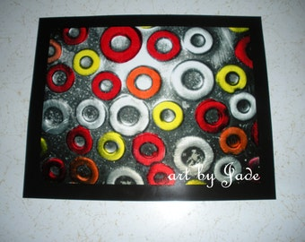"""Industrial  Photograph titled, """"Circles"""""""
