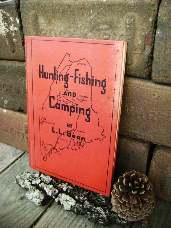 Vintage 1947 ll bean hunting fishing and camping by for Ll bean fishing