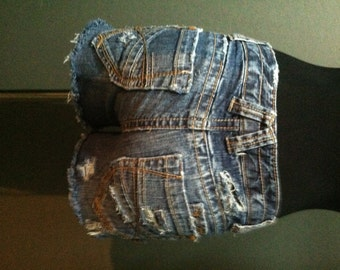 Distressed Aeropostale Cut off Denim Shorts