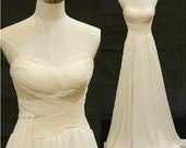 Custom Sweetheart Neckline Wedding Dress/Bridesmaids Dress/Prom Dress A007