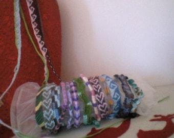knotted friendship bracelets