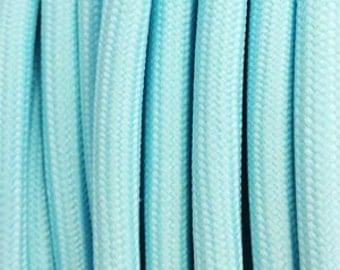 Pastel blue textile cord 2 son - 0.75 mm