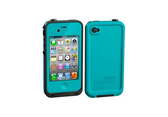 lifeproof iphone 4 case iphone 4 lifeproof cover for apple iphone 4 4s teal 4119