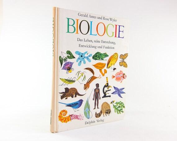Charley Harper Golden Book of Biology -  FULL COLOR Illustrations 1961 German