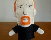 Louis CK Felt Finger Puppet - Free shipping!