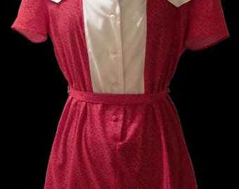 "Replica ""The Notebook"" Red and White Short Dress or Romper"