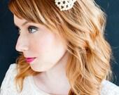 Vintage Pearl Bow Bridal Headband