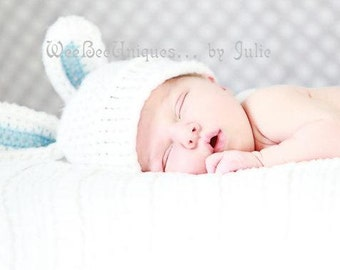 baby boy bunny hat photography prop easter hat