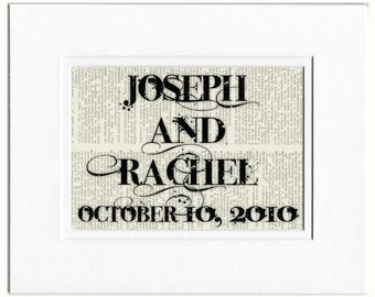 Custom Names and Date sign