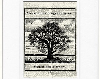 We see things sign