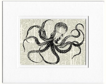 Octopus III dictionary page print