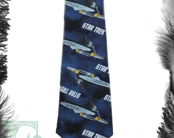 Star Trek Enterprise Tie, Geek, Trekkie