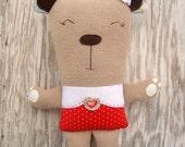Bitsy Bear Pattern Plush Stuffie pdf Download now