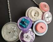 Button Necklace - Penelop...
