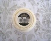 DMC 3823 Ultra Pale Yellow Perle Cotton Thread Size 12