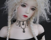 """Hand Made Wig Fitted for Iplehouse SID, Many SD girls, and MSDs with Larger Heads (8"""" diameter)"""