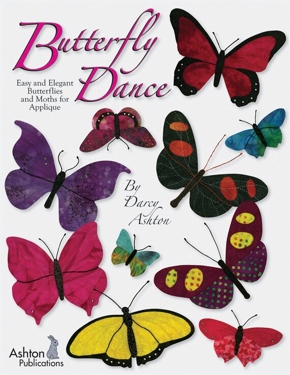 Butterfly Dance Applique Quilting Book