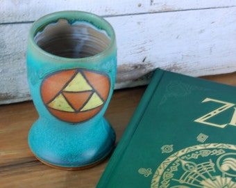 Legend of Zelda Triforce Pint Glass- Made to Order