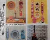 Macrame Book Vintage How To 1970s Macramé Scrapbook by Pam Gochanour Quality Craft Book Instructions
