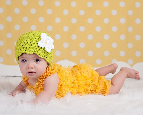 Newborn Baby Girl Hat Newborn Hat Newborn Girl Hat Lime Green Baby Hat Baby Girl Clothes Baby Girl Beanie Spring Photo Prop Photography Prop