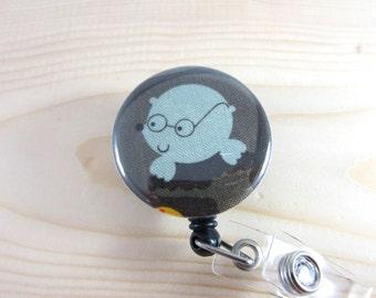 Cute Badge Holder Retractable Badge Reel - Great Gift for Teachers Nurses -  Mole