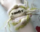 WRAP BRACELET LARIAT Necklace Hair Anklet Key Pink Green Wedding