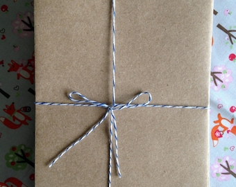 25 A7 Brown Paper Craft Envelopes - Perfect for Invitations - RTS