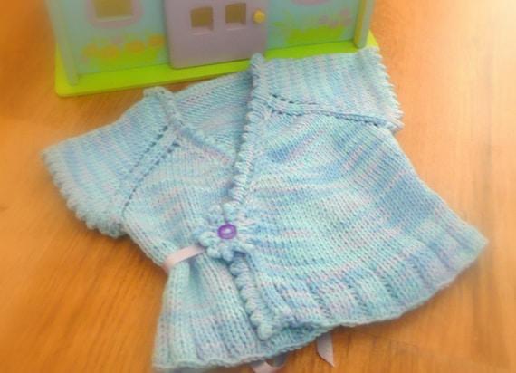 Crossover Cardigan Knitting Pattern : Knitting Pattern Crossover Top Down Cardigan Vest Sweater