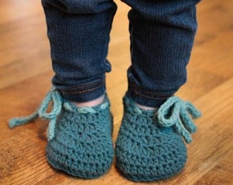 Crochet Pattern - Bodie Baby Booties (Newborn to 18 mo.)