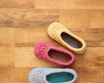 Crochet Slipper Pattern - Oma House Slippers