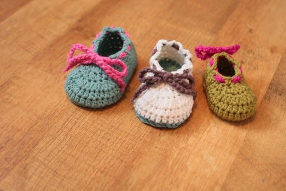 Crochet Bootie Pattern - Bodie Baby Booties (Sizes Newborn to 18 mo.)