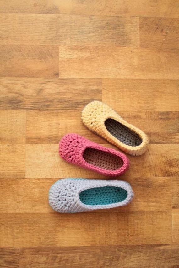 Crochet Slipper Pattern - Oma House Slippers