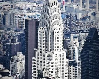 Chrysler Building New York City Fine Art Print - Travel, Scenic, Landscape, Nature, Home Decor, Zen